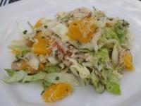 makreel salade met sinaasappel