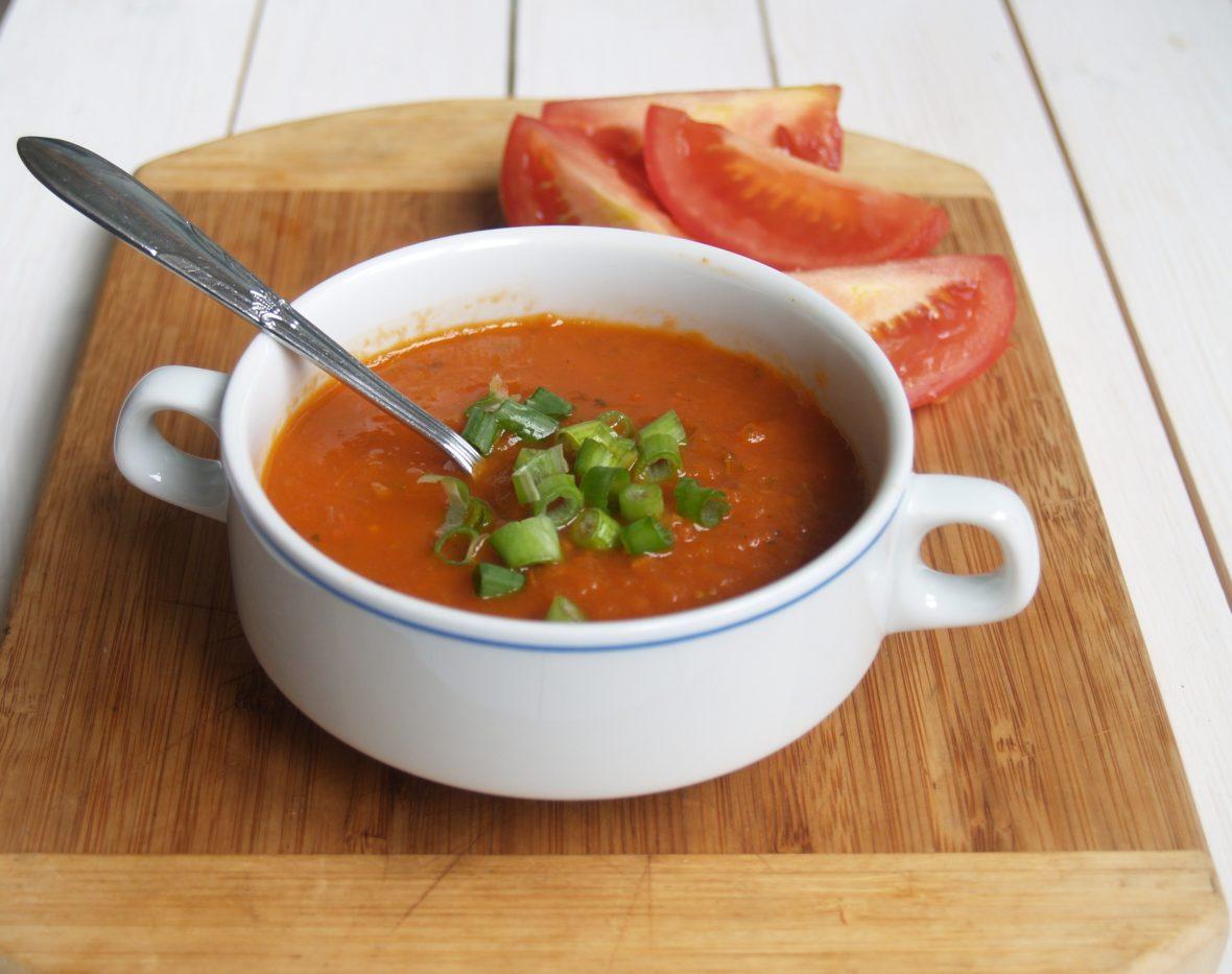 tomatensoep uit de oven