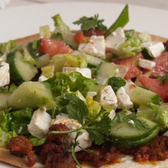 Turkse pizza van Jamie