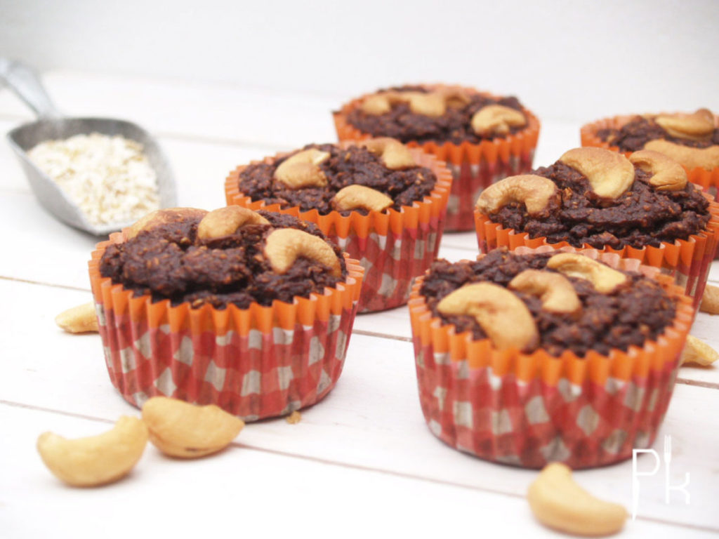 chocolade appel muffin