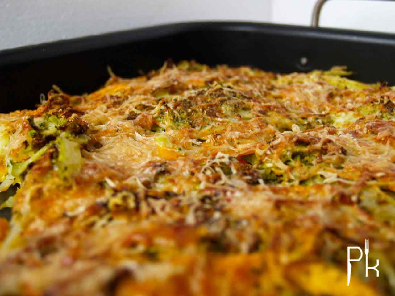 broccoli zoete aardappel schotel
