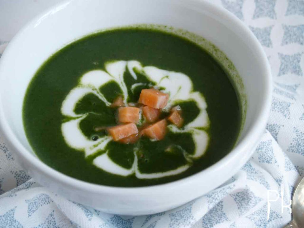 spinazie soep
