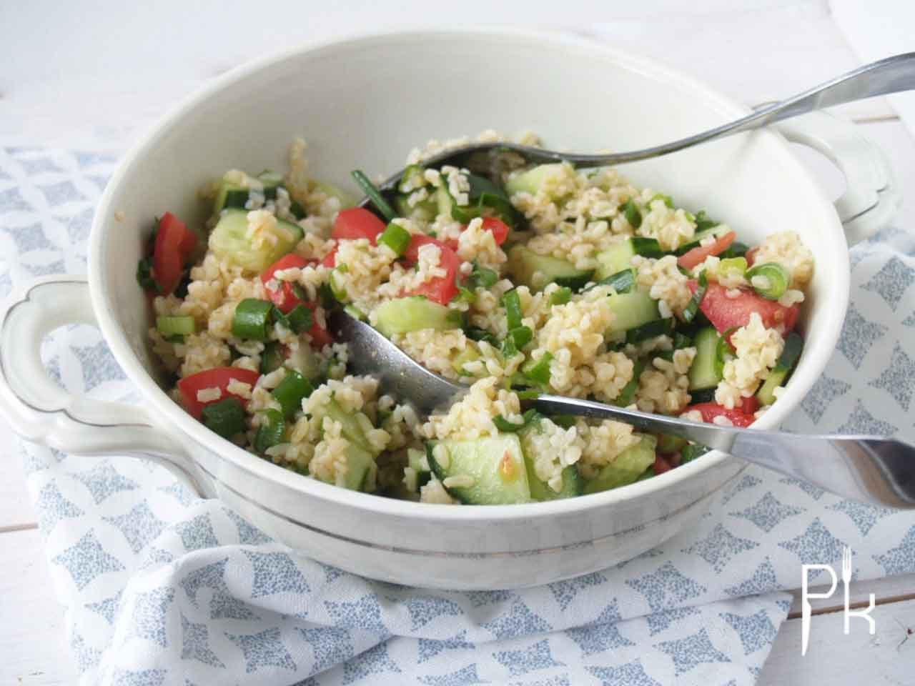 frisse tabouleh salade