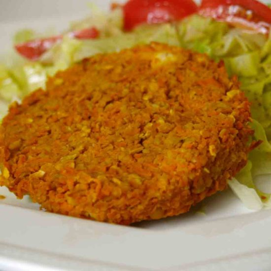 wortel burger