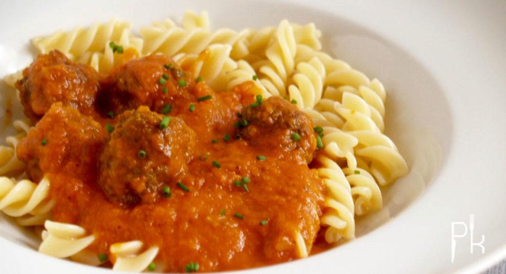 Italiaanse pastasaus