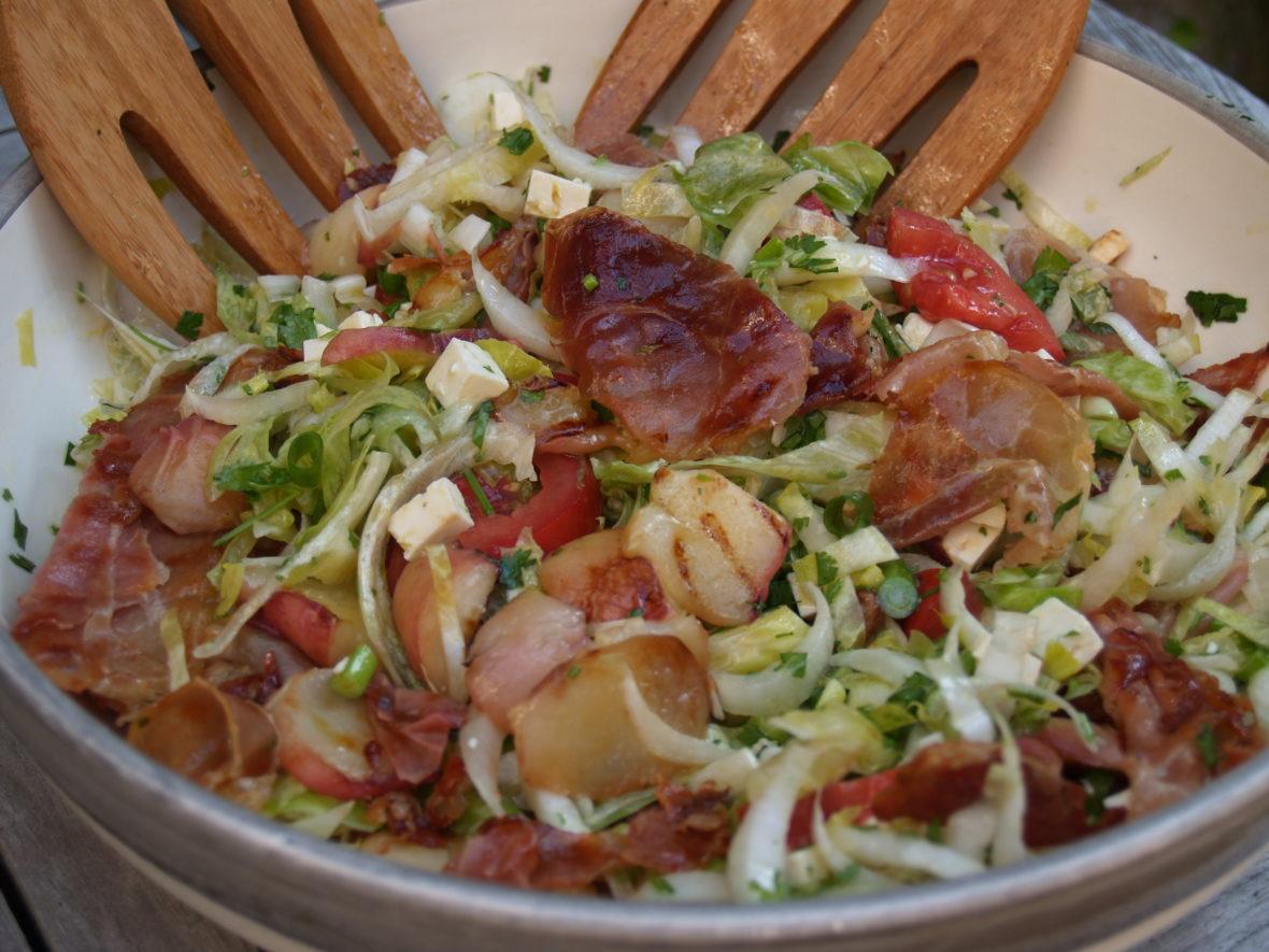 wilde witlof salade