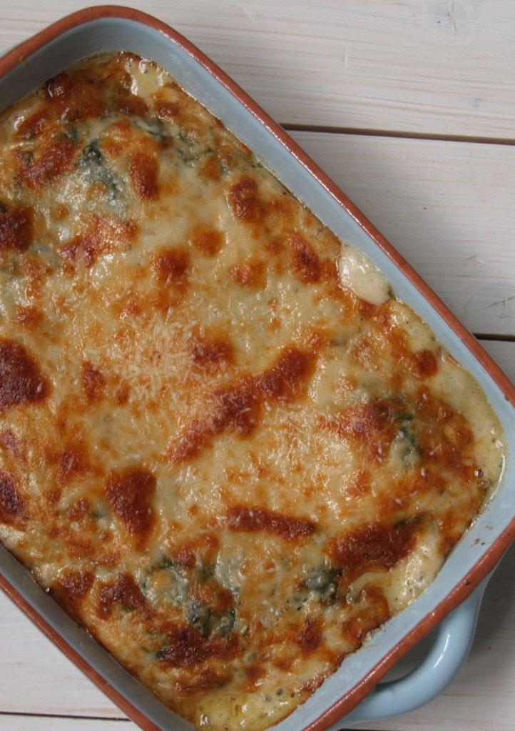 spinazie lasagne