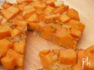 zoete aardappeltortilla