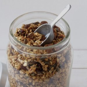 home made cruesli granola
