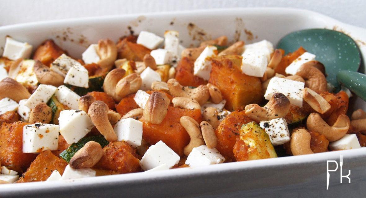groente uit de oven