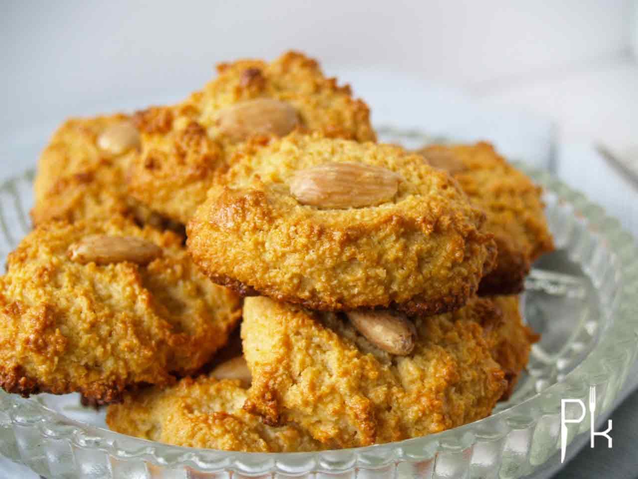 amandel kokos koekje