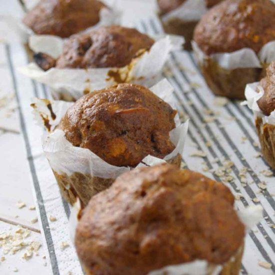 bananenbrood muffin