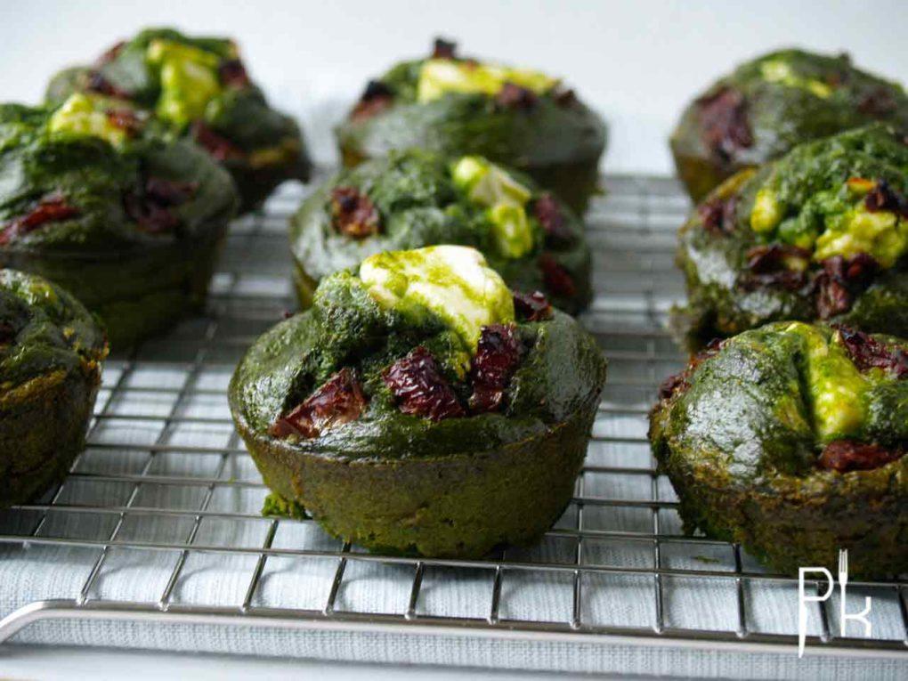 spinazie muffin