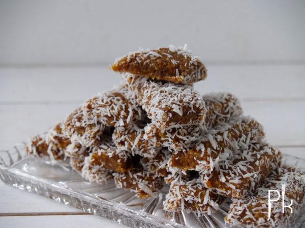 energy abrikozen bars met kokos