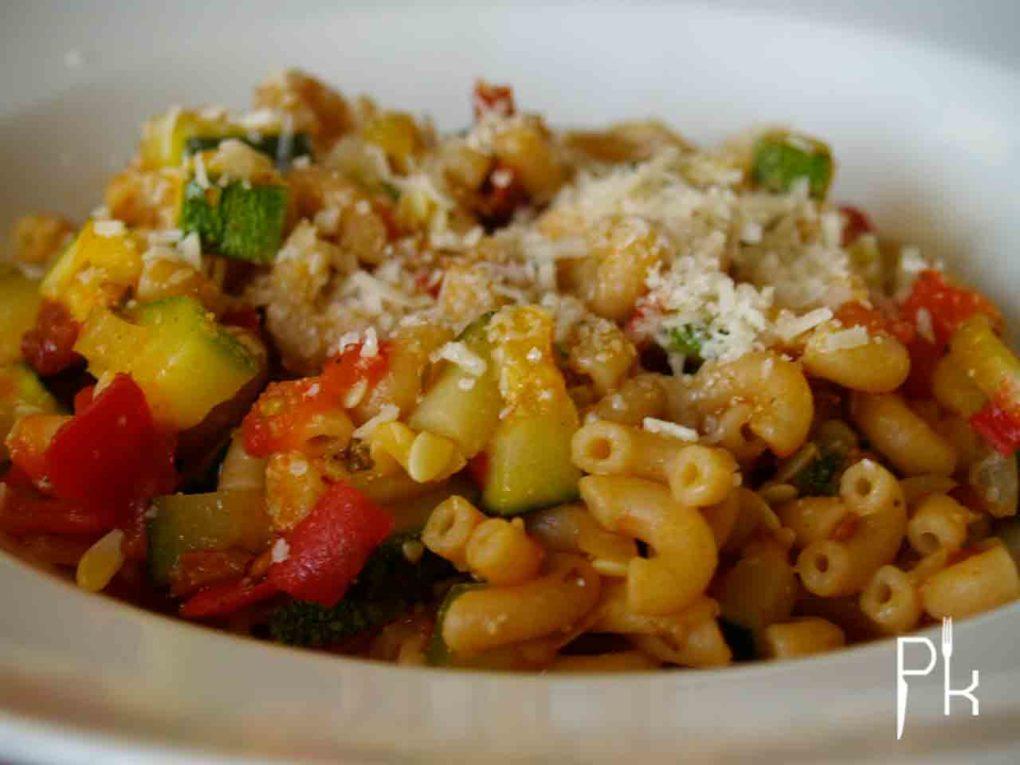 pasta met courgette