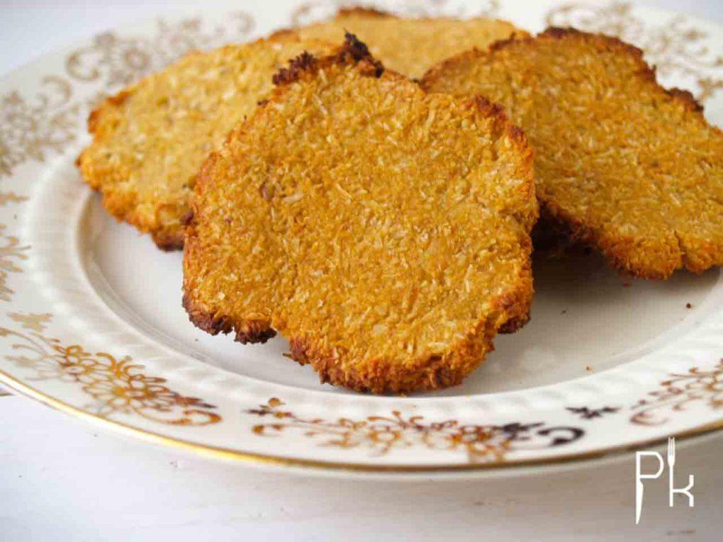 snelle banaan-amandel-koekjes