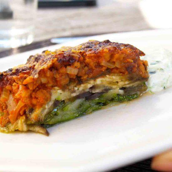 vegetarische moussaka