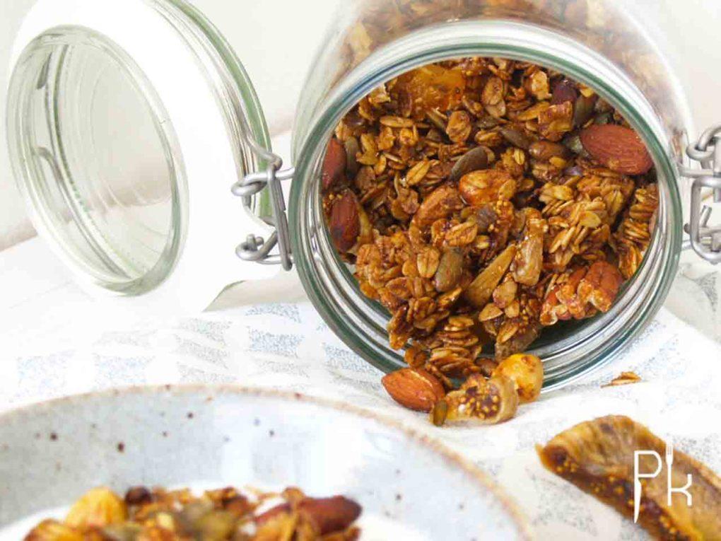 cruesli met vijgen en abrikozen