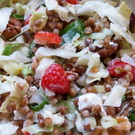 linzen spitskool salade