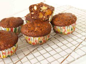 power muffin met vijgen en dadels