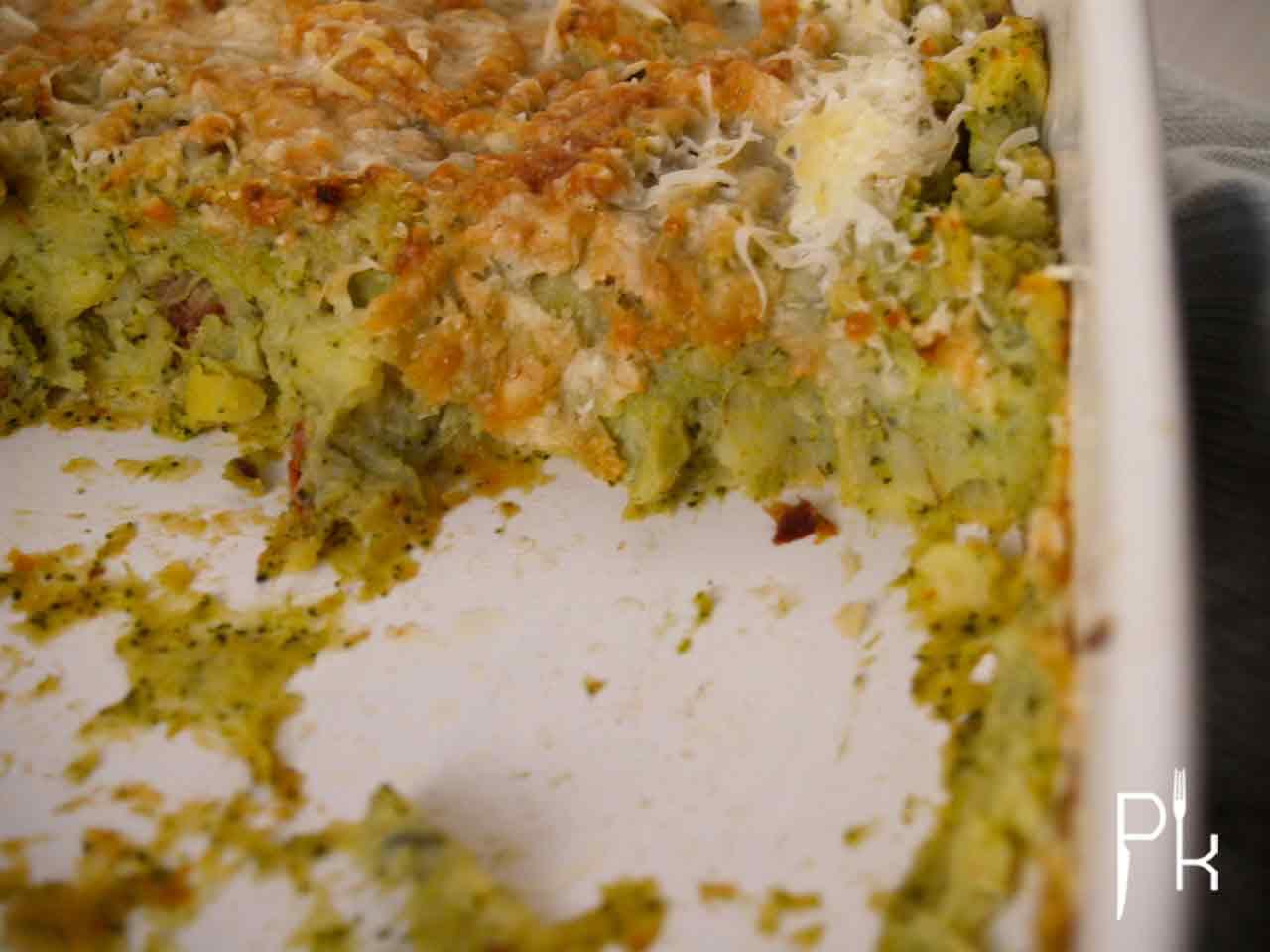 broccoli stamppot met zongedroogde tomaten