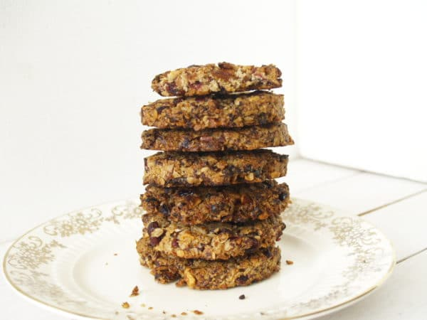 crunchy vijgen abrikozen koeken