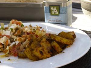 Mexicaanse aardappels uit de oven