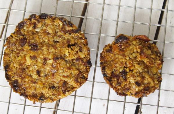 abrikozen / vijgen koeken