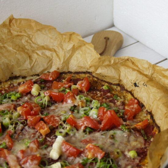 bloemkool pizza