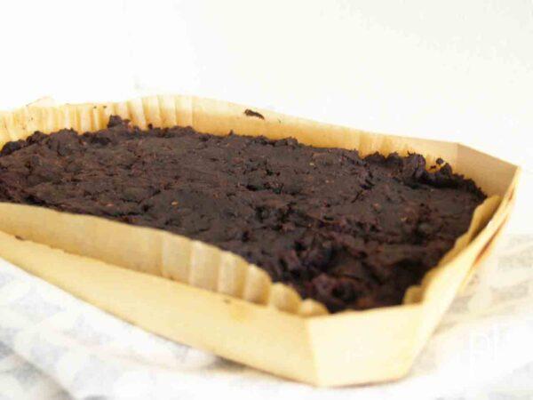 zwarte bonen brownie