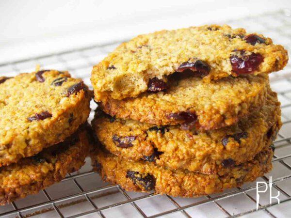 knapperige havermout koekjes
