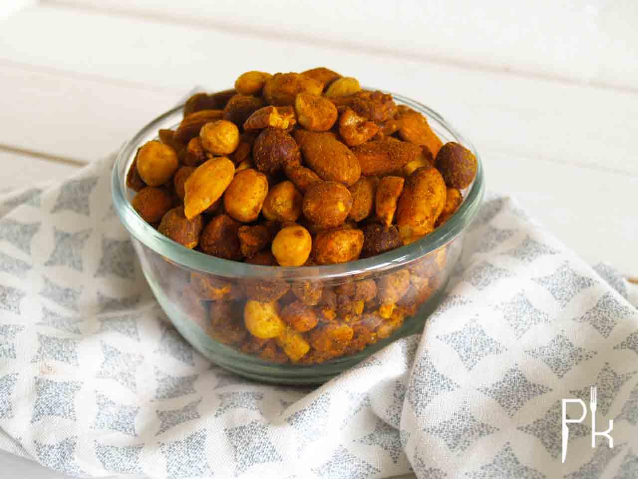 gekruide noten